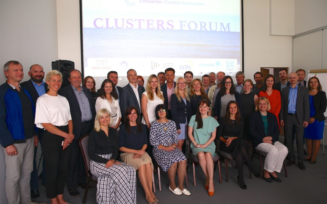 Review of the Cluster Forum held on 23rd of August