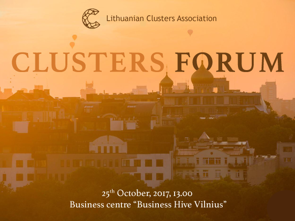 A new Lithuanian Cluster Studio and an updated concept of development were presented in the Clusters Forum