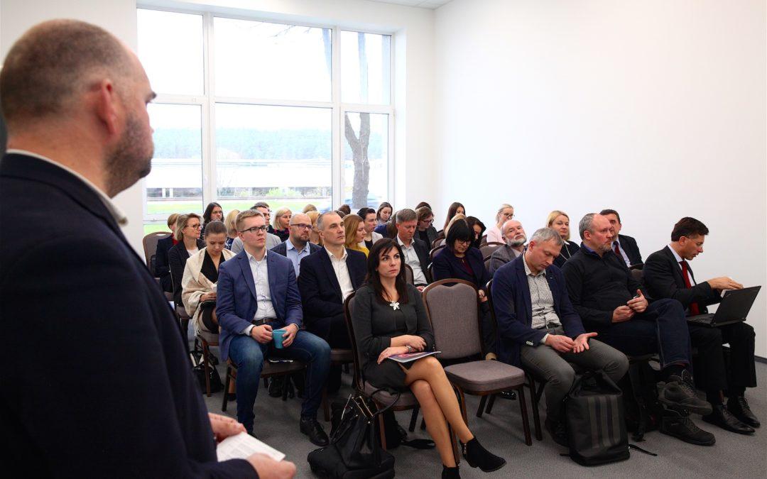 Klasterių forume pristatyta nauja Lietuvos klasterių studija ir atnaujinta plėtros koncepcija
